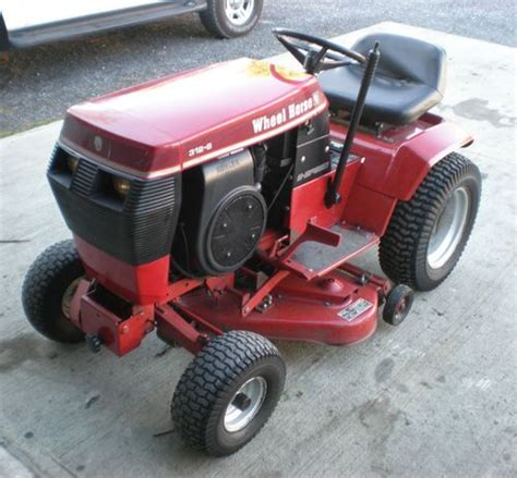 toro wheel 312 8 garden tractor with 36 quot mower deck