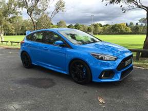 Ford Rs 2017 Ford Focus Rs Review Caradvice
