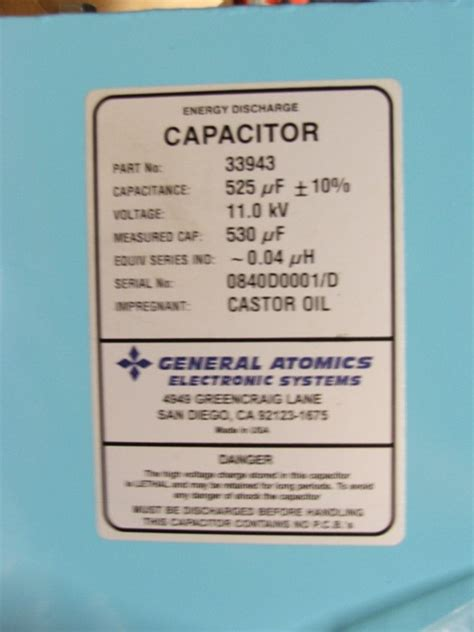 capacitor label printer friendly 4hv org