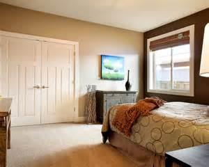 Bedroom Color Ideas Accent Wall How To Decorate Your Bedroom With Brown Accent Wall Home