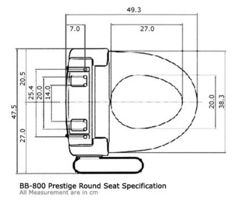 bidet dimensions bio bidet 800 bidet toilet seat for intimate hygiene