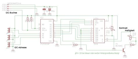 transistor bc548c conrad elektronik projekte lc display platine