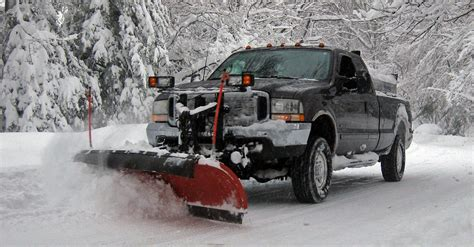 snow plow for truck choosing the right plow truck this winter