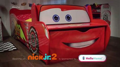 mcqueen bed hellohome lightning mcqueen startime toddler bed youtube