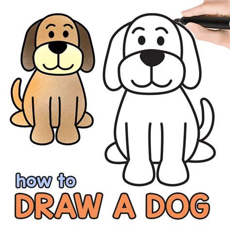 draw  dog step  step drawing tutorial