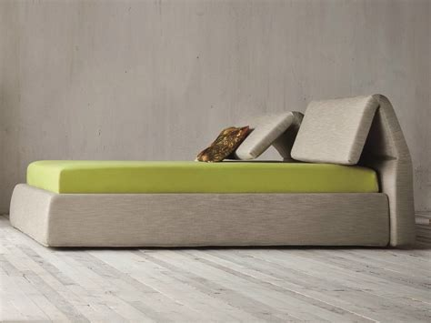 bed headrest plia bed with adjustable headrest by dall agnese design