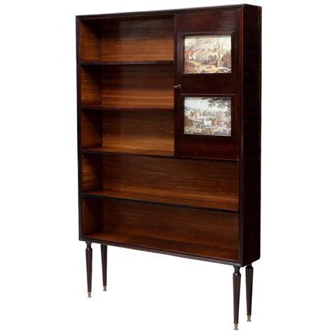 mid century bookshelves italian mid century modern bookcase at 1stdibs
