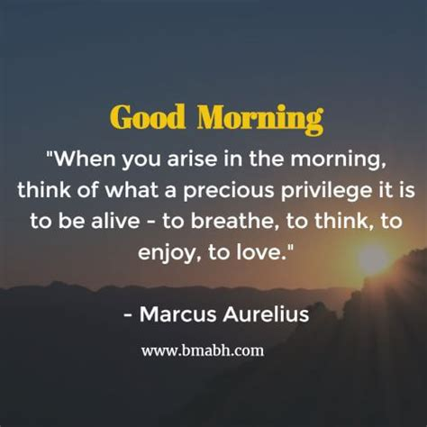 Morning Inspirational Quotes When You Arise In The Morning Bmabh
