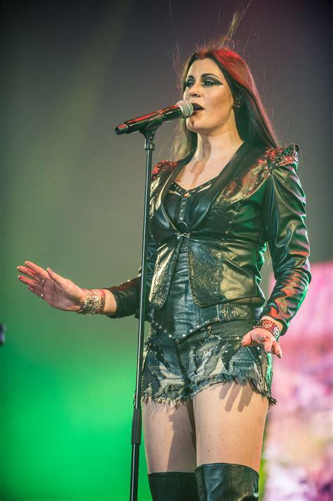 Nightwish Floor Jansen by Floor Jansen Nightwish Performs At The Sse Arena