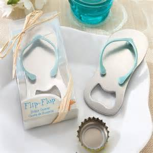 Flip Flops Wedding Favors by How To Plan A Blue Theme Wedding