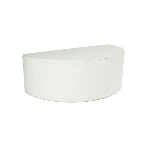 half circle bench half circle bench white barlens