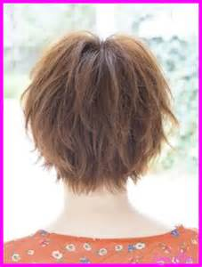 short to medium haircuts front and back hairstyles