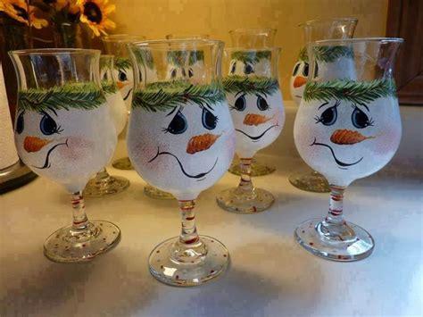 decoracion de vasos de vidrio para navidad manualidades navide 241 as en copas de vidrio buscar con