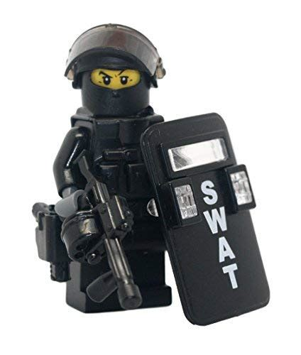 Almost Tactical S W A T lego and swat team