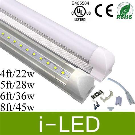 6ft led light led cooler lights t8 led 4ft 5ft 6ft 8ft led