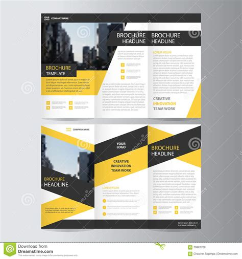 black brochure template book flyer template yourweek 122821eca25e