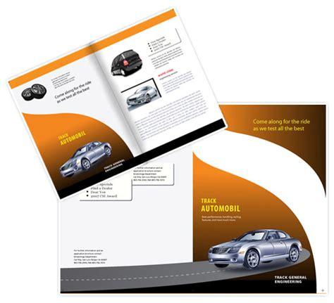 template monster brochure design car test ride brochure design templates