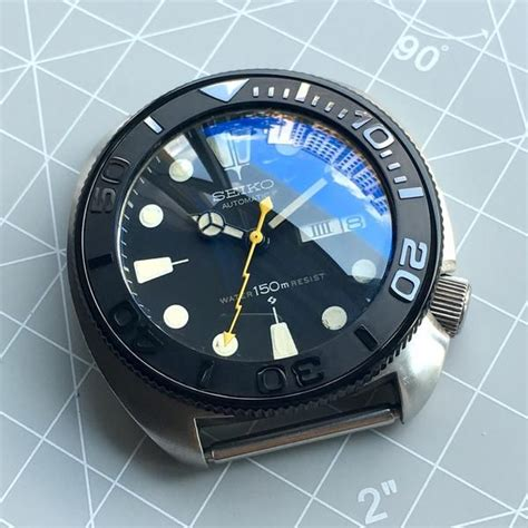 Insert Bezel Seiko Skx009 Ori dlw watches seiko modification part ceramic bezel
