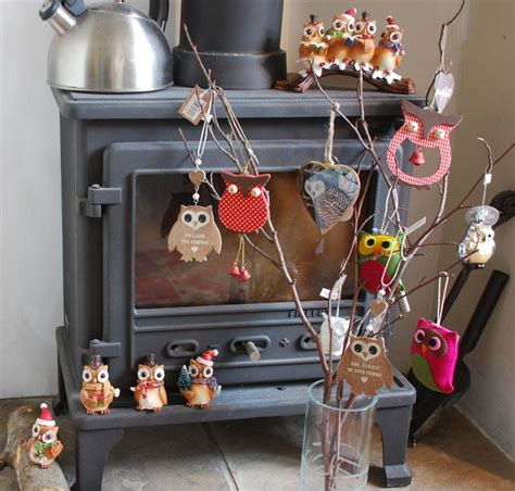 17 best images about owl christmas decorations on
