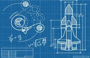 Design A Kitchen App rocket blueprint wallpaper wall mural muralswallpaper co uk