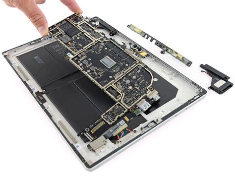 Microsoft Surface Pro 5 microsoft surface pro 5 teardown sehr schlechte