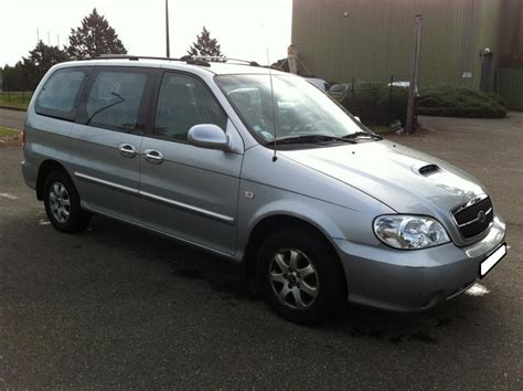 Kia Carnival Uk Troc Echange Kia Carnival 2 9 Crdi Ex Major 7places 05