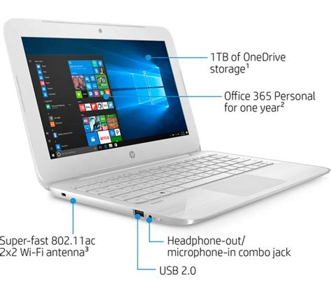Hp Laptop 11 6 hp 11 y053na 11 6 quot laptop white deals pc world