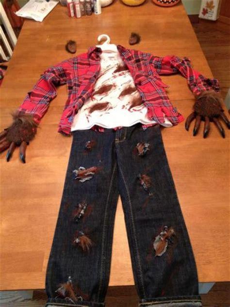 werewolf costume ideas  pinterest werewolf
