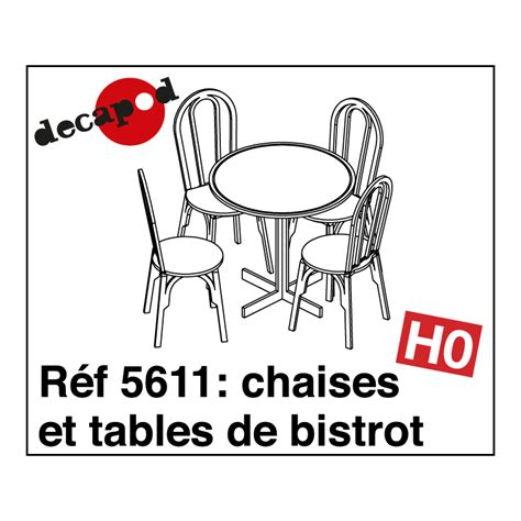 Tables Et Chaises by Chaises Et Tables De Bistrot