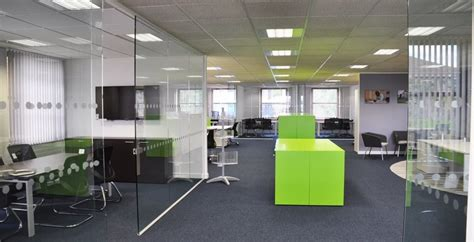 Mc Interiors by Partitions Partition Walls Office Refurbishment