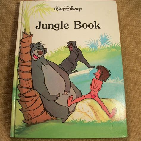 disney picture books walt disney jungle book book from illustrated book