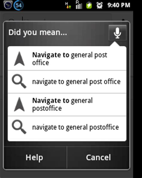 Navigate To The Office by 20 Android Voice Commands To Take Of Your Phone