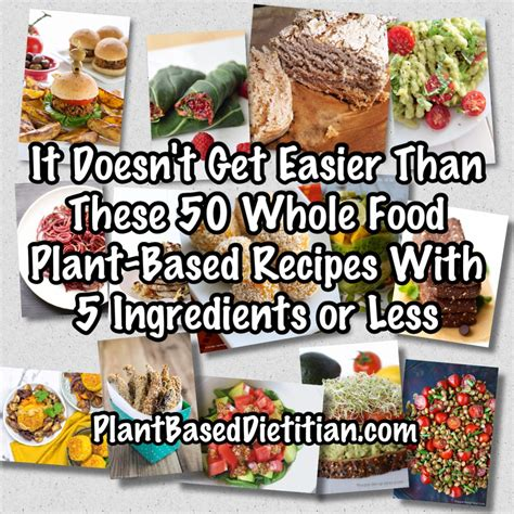 real food really fast delicious plant based recipes ready in 10 minutes or less books whole food plant based archives plant based dietitian