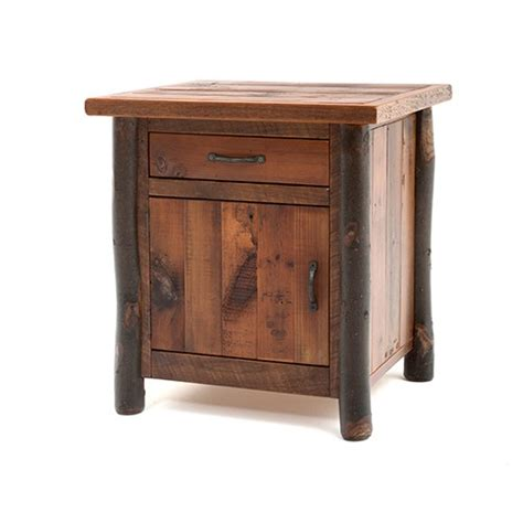 Nightstand With Door And Drawer Yellowstone Original Jackson 1 Door 1 Drawer