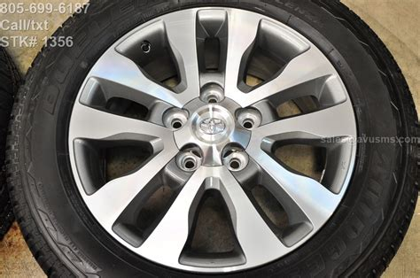 20 Toyota Tundra Wheels 2016 Toyota Tundra Limited 20 Quot Oem Wheels Tires Sequoia