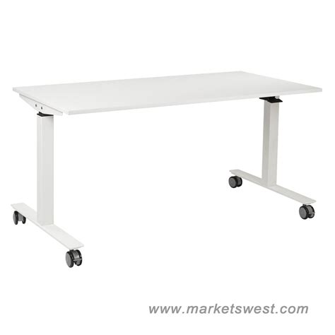 Ascend Pneumatic Adjustable Height Table Desk With 24 Quot X Pneumatic Height Adjustable Desk