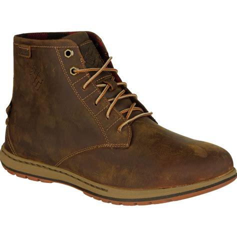 leather boot mens columbia davenport six nubuck leather boot s
