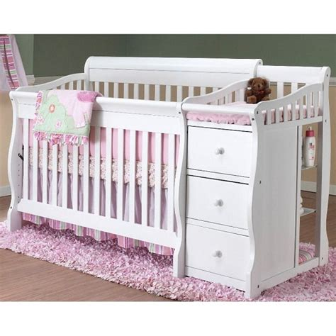 Crib And Changing Table Combo Sorelle Tuscany 4 In 1 Convertible Fixed Side Crib And Changing Table Combo Espresso