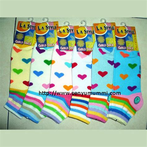 Socks 5 8 Tahun An Kaos Kaki Perempuan Boneka Lucu daftar harga kaos kaki bagian 2 senyumummi senyumummi