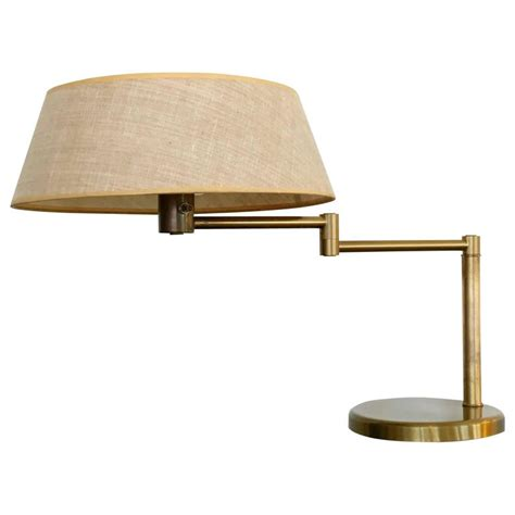 brass swing arm table l brass swing arm desk or table l by walter nessen
