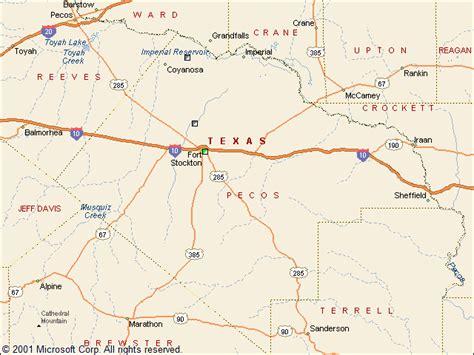 pecos texas map usgs groundwater