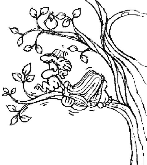 printable coloring pages zacchaeus zacchaeus coloring page az coloring pages