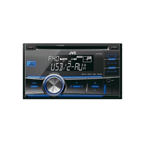 Jvc Car Stereo With Usb Port by Kw R400 Din Stereo Usb Cd Front Usb Port And Aux