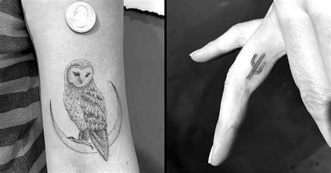 single needle tattoo vs regular miniature single needle tattoos by daniel winter tattoodo