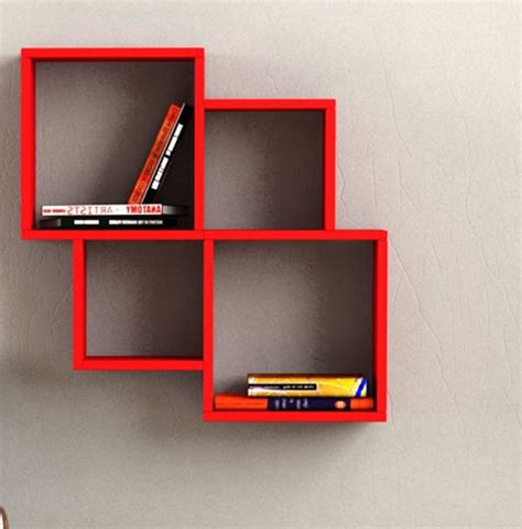 modern wall mounted bookcase 31 unique wall shelves that make storage look beautiful
