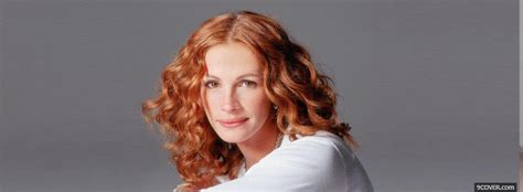 julia roberts red hair celebrity julia roberts curly red hair photo facebook cover