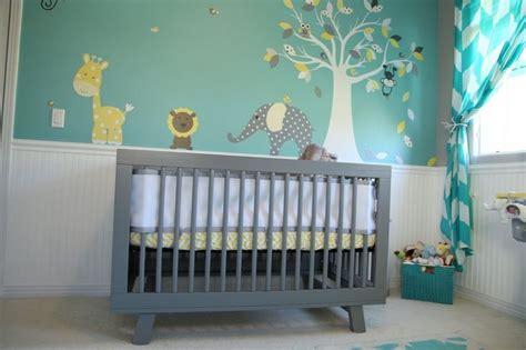 grey baby bedroom baby room nursery teal nursery yellow nursery grey nursery wall mural wall decal