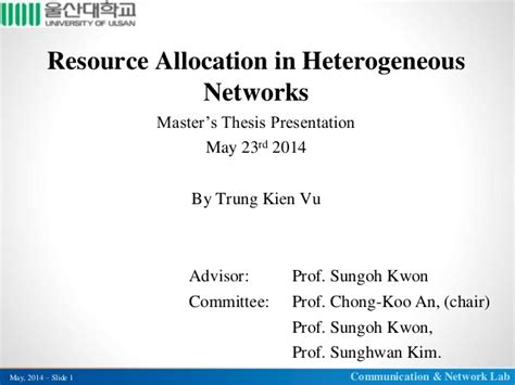 dissertation defence presentation resource allocation in heterogeneous networks