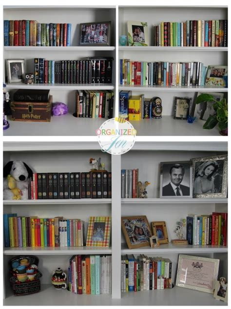 pretty bookshelves bookshelf tour organization pretty neat living