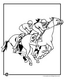 coloring pages of race horses racing coloring pages coloring home
